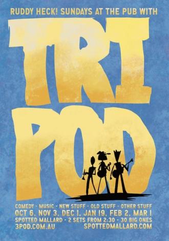 Tripod-Mallard-Poster